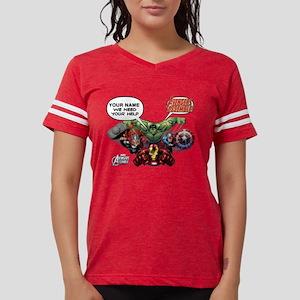 Avengers We Need Your Help Womens Football Shirt