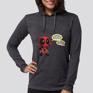 Deadpool Love Tacos Womens Hooded Shirt