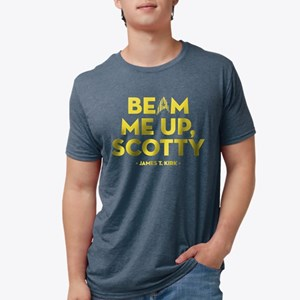 Star Trek Captain Kirk Quot Mens Tri-blend T-Shirt