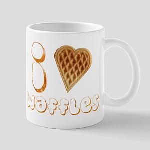 I Heart (Love) Waffles Mug