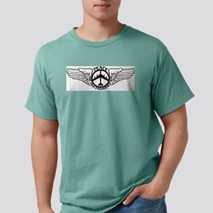 Peace B-52 with Wings Mens Comfort Colors Shirt