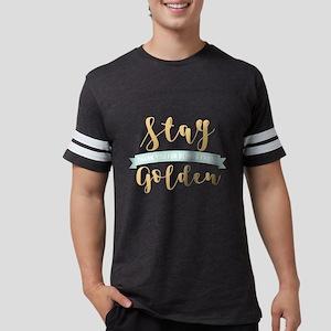 Stay Golden Mens Football Shirt