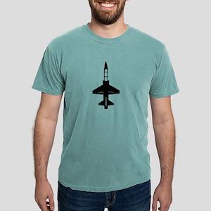 T-38 Black Mens Comfort Colors Shirt