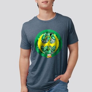 Iron Fist Logo Mens Tri-blend T-Shirt