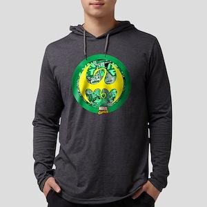 Iron Fist Logo Mens Hooded Shirt