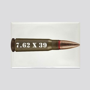 7.62 AK Ammo Design Rectangle Magnet