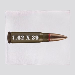 7.62 AK Ammo Design Throw Blanket