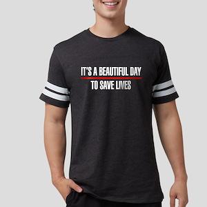 Its a Beautiful Day to Save Li Mens Football Shirt