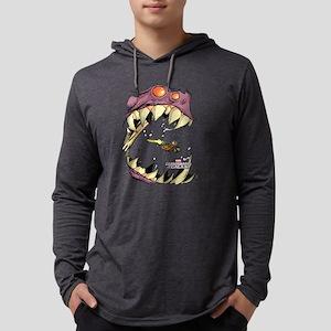 GOTG Comic Rocket Big Mouth Mons Mens Hooded Shirt