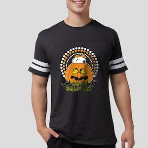 SnoopyPumpkin-Dark Mens Football Shirt