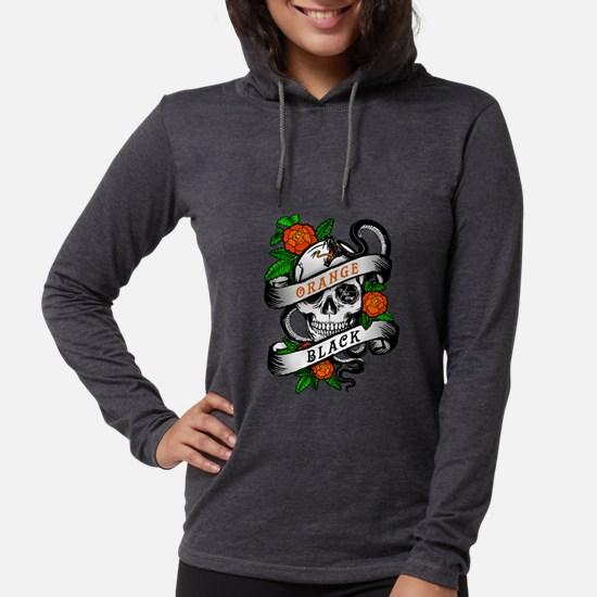 OITNB Skull Womens Hooded Shirt