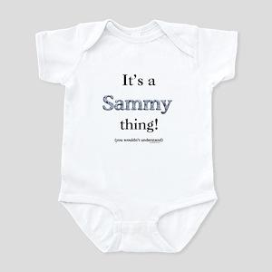 Sammy Thing Infant Bodysuit