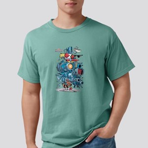 GOTG Rocket Drawing Mens Comfort Colors Shirt