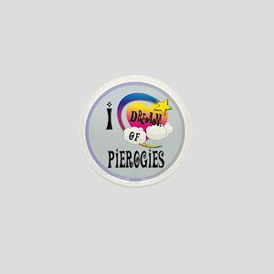 I Dream of Pierogies Mini Button