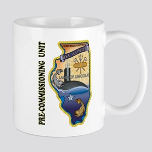 PCU Illinois SSN 786 Mug