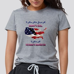 I Am Not Just A Daddy's G Womens Tri-blend T-Shirt