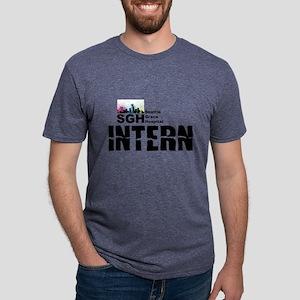 Intern Mens Tri-blend T-Shirt