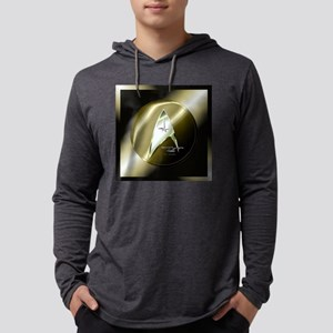 Bronze Star Trek Mens Hooded Shirt