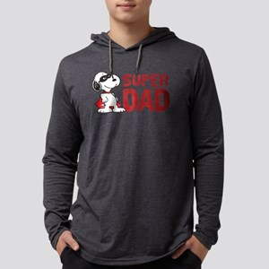 Super Dad Mens Hooded Shirt