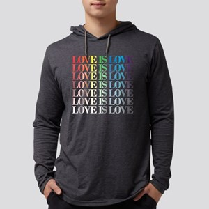 Queer as Folk: Love Dark Mens Hooded Shirt
