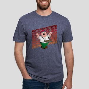 Family Guy Buttscratcher Li Mens Tri-blend T-Shirt