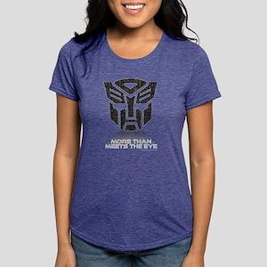 Transformers More Than Me Womens Tri-blend T-Shirt