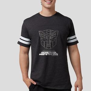 Transformers More Than Meets T Mens Football Shirt