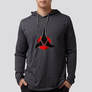 Klingon symbol 2 Mens Hooded Shirt