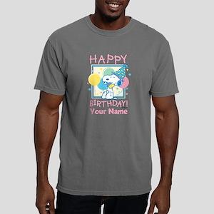 Peanuts Happy Birthday P Mens Comfort Colors Shirt