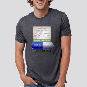 FUKITOL Mens Tri-blend T-Shirt