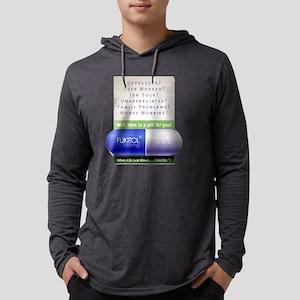 FUKITOL Mens Hooded Shirt