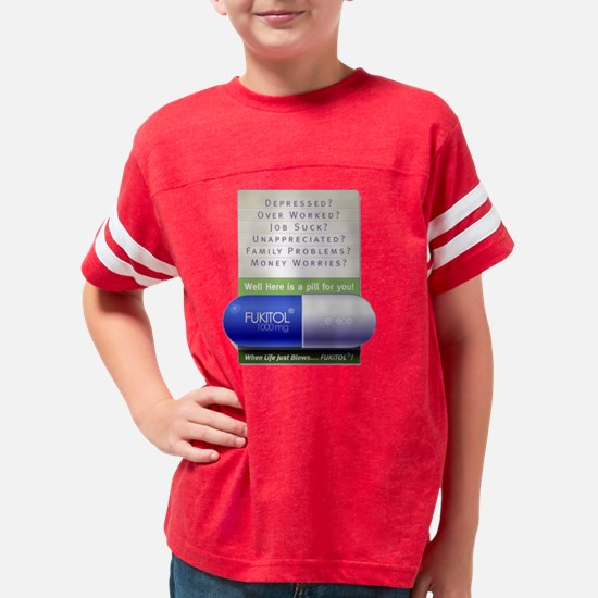 FUKITOL Youth Football Shirt