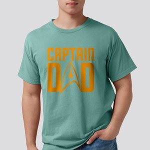 Captain Dad Mens Comfort Colors Shirt