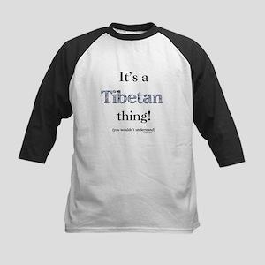 Tibetan Thing Kids Baseball Jersey
