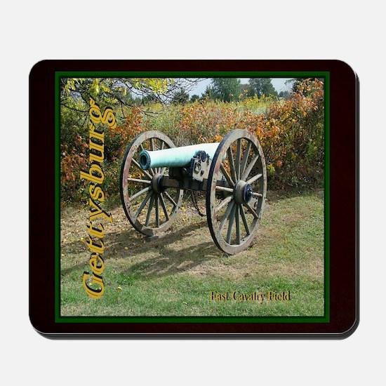 Gettysburg Cannon Mousepad