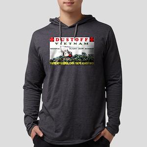 DUSTOFF Mens Hooded Shirt