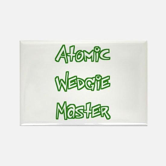 Atomic Wedgie Master Rectangle Magnet