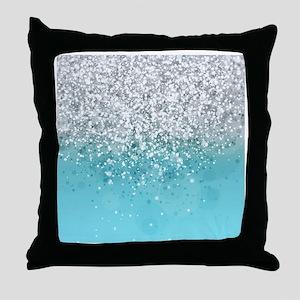 Glitteresques I Throw Pillow
