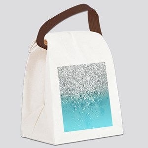 Glitteresques I Canvas Lunch Bag