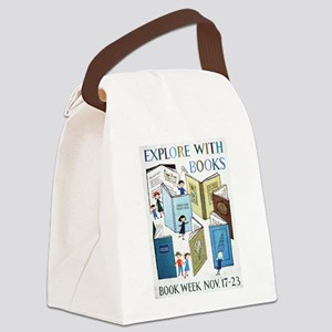 1957 Children's Book Week Canvas Lunch Bag