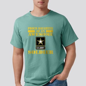 armyawesomedaughter2 Mens Comfort Colors Shirt