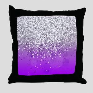 Glitteresques IV Throw Pillow
