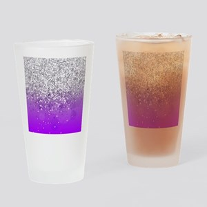 Glitteresques IV Drinking Glass
