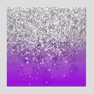 Glitteresques IV Tile Coaster