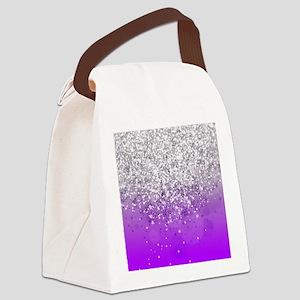 Glitteresques IV Canvas Lunch Bag