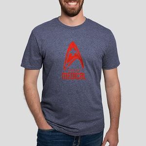StarFleetMedicalRed Mens Tri-blend T-Shirt
