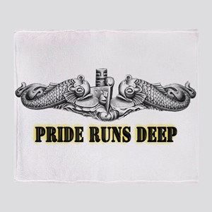 Pride Runs Deep! SSN-786 Throw Blanket