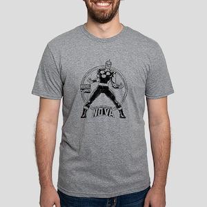 Nova Distress Mens Tri-blend T-Shirt
