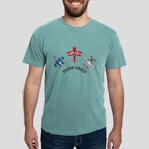 Plane Crazy Mens Comfort Colors Shirt