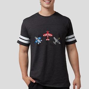 Plane Crazy Mens Football Shirt